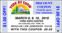 2012 RV Show Coupon